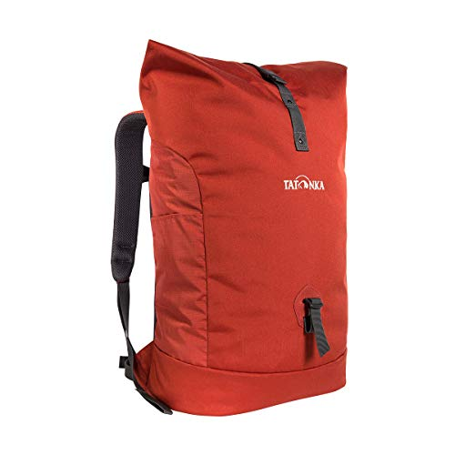 Tatonka Unisex- Erwachsene Grip Rolltop Pack Daypack, Redbrown, 34 Liter (55 x 32 x 17 cm)