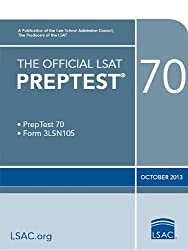 The Official LSAT Preptest 70: PrepTest 70, Form 3LSN105, October 2013