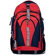 ZAPSHOP 968-R Mochila Viaje 40/50 L de Senderismo Marcha treking Camping o