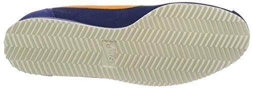 Nike Herren Classic Cortez Nylon Turnschuhe, Weiß Blau (Blau (Lyl Bl/Brght Mndrn-Dk Prpl Dst))