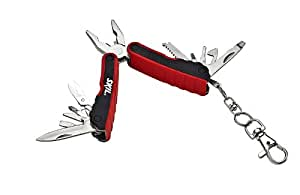Skil Mini Multi Tool Keychain (Red and Black)