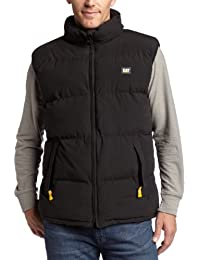 Big and Tall Caterpillar Men's Quilted Insulated Vest