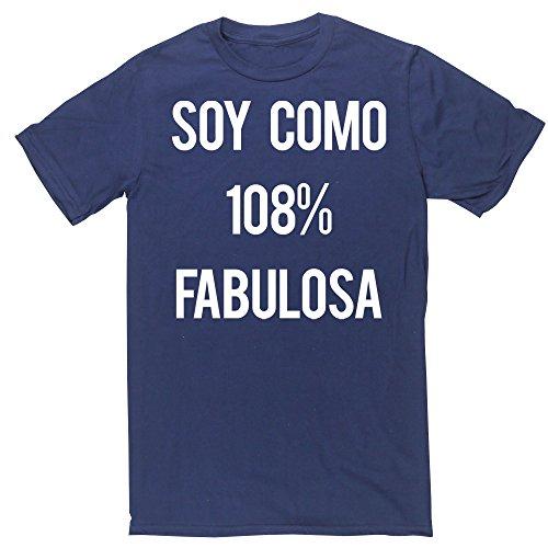 HippoWarehouse Soy Como 108% Fabulosa camiseta manga corta unisex