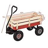 """Generic * Wago Along trolley den Wagon Kids Pull Garden carro child Garden Wagon bambini l Alon trasporto 25,4cm pneumatico EU carrello rimorchio""""pneumatico UK"""
