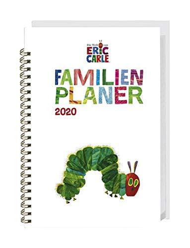Die kleine Raupe Nimmersatt Familienplaner-Buch A5 Kalender 2020