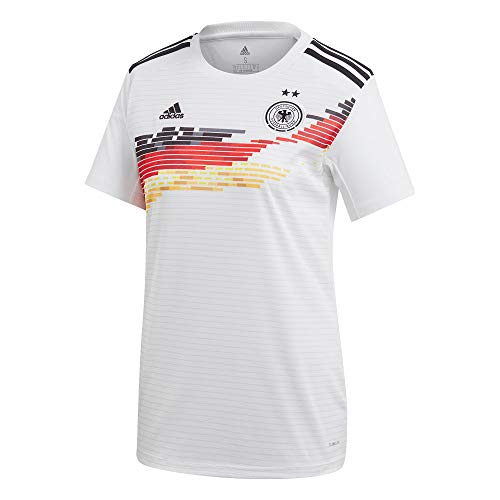 Frauen-fußball-trikot (adidas Performance Damen DFB Frauen WM 2019 Heim Fußballtrikot weiß L)