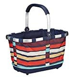 Reisenthel - Paniere, cesto per la spesa/da picnic con manici, colore e motivo a scelta, artist stripes (multicolore) - BL3058