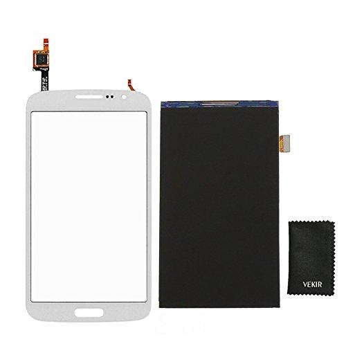 VEKIR LCD-Bildschirm Ersatz + Touch Glas-Screen-Ersatz Kompatibel mit Samsung Galaxy Grand 2 G7102 G7105 G7106 G7108 G7109 (weiß) Retail Verpackung