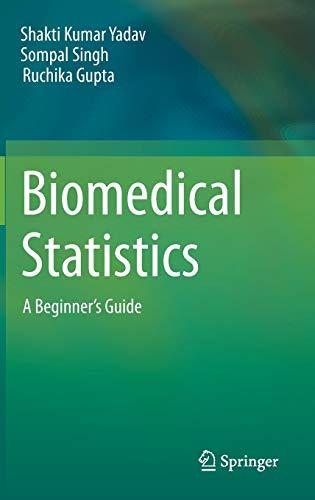 Biomedical Statistics: A Beginner's Guide