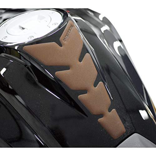 Print Motorrad-Tankpad Tankpad Anniversary Lederlook braun