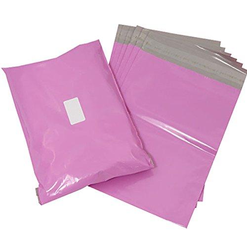 Triplast 17 x 22 cm-Buste per posta in plastica, colore: rosa (confezione da 200)