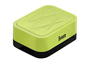 Divoom Ifit-1 On-Go Speaker With Built-in Phone Stand for Android/iOS Devices (Neon Green)