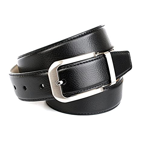 Anthoni Crown Men's 1NT10 Belt, Schwarz (Schwarz 010), M