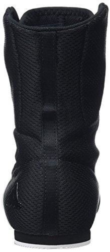 adidas Box Hog, Chaussures de Boxe Mixte Noir