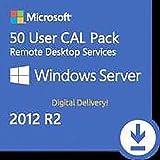 Windows Server 2012 R2 RDS User / Device CAL 50 ESD Key Chiave Licenza ITA Lifetime / Fattura / Invio in 24 ore