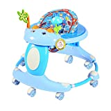 JH Walker Multifunktions-Anti-Rollover 6/7-18 Monate Baby Männliche Baby Push Kann Sitzen Kind Falten,Blau,Einheitsgröße HJ