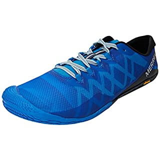 Merrell Men's Vapor Glove 3 Trail Running Shoes, (Directoire Blue), 11.5 UK