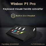 Coaste Coolway Winbox P1 Pro Clavier et Mouse Handle Converter pour PS4/Switch/Xbox, Contrôleur de Souris Adaptateur Clavier
