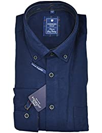 Redmond - Regular Fit - Herren Flanell Hemd mit Button-Down Kragen (72350111/72350333)