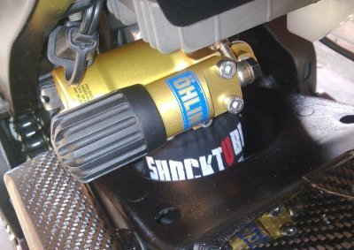 R & Shocktube Fazer1000 Moto G, compatibile con Yamaha FZ1, N-FZ1, S, FZ6 FZ8, MT03, TDM850, TDM900, XJ6, XJ6 Diversion F-FZ6R, XVS1300A, YZF-R1