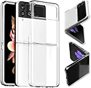 Case for Samsung Galaxy Z Flip3, Crystal Clear Hard PC Anti-Scratch Protective Case, Cell Phone Cover Cases fo