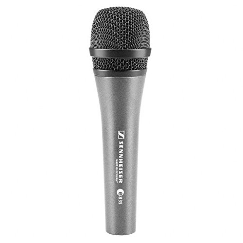 Sennheiser E 835 - micrófono rojo