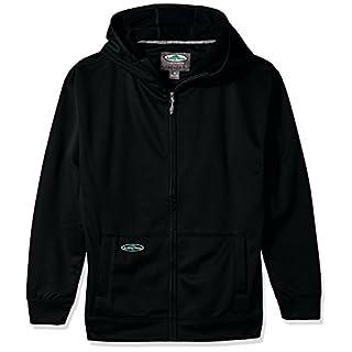 Arborwear Men's Tech Single Thick Full Zip, Black, Medium