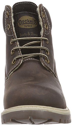 Dockers by Gerli 35FN701-400320 Unisex-Kinder Combat Boots Braun (cafe 320)