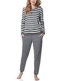Merry Style Damen Schlafanzug Pyjama MS10-107