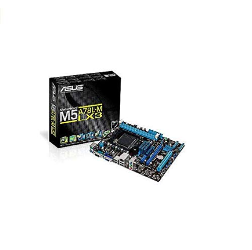 ASUS M5A78L-M LX3 - Plaque base (DDR3-SDRAM, DIMM, Double, AMD, Athlon, Athlon FX, Phenom, Sempron, Prise AM3 +)