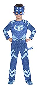 Amscan Dress Up- Reversible Catboy/Gekko Disfraz, Color blue and green, 5-6 años (9904226)