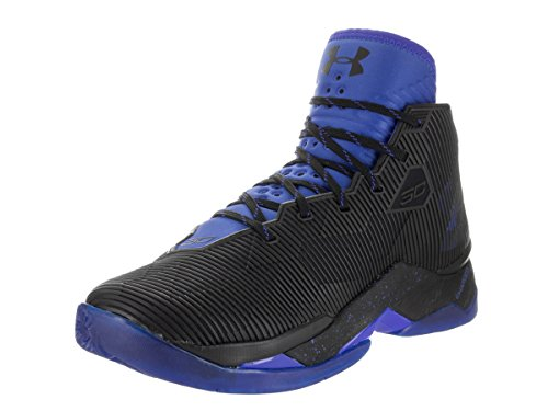 Under Armour Curry 2.5 Synthetik BasketballSchuh Black/Team Royal/Team Royal