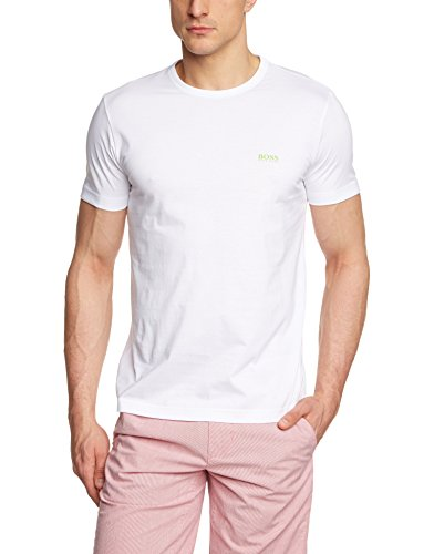 BOSS Herren T-Shirt Tee Weiß (White 100) X-Large