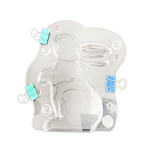 GerTong PVC Moule 3D Lapin Forme...