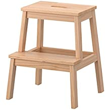 ikea bekvam escalera utilidad madera