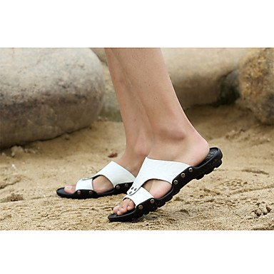 Slippers & amp da uomo;Primavera Estate Autunno Comfort pelle bovina abito all'aperto acqua scarpe casual Sand sandali US9.5 / EU42 / UK8.5 / CN43