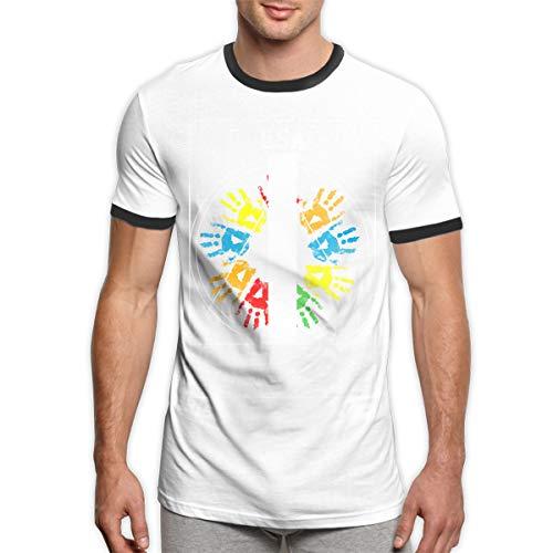 Vintage Macht einen großen 4. Juli Feuerwerk USA Männer Ringer T-Shirt Viertel Juli T-Shirt Männer 4. Juli Feier Männer Kleidung schwarz L
