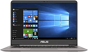 "Asus Zenbook UX410UA-GV410T Ultrabook 14"" Full HD Gris (Intel Core i7, 8 Go de RAM, SSD 256 Go, UHD Graphics 620, Windows 10) Clavier AZERTY Français"