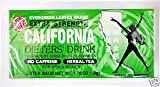 3 CALIFORNIA DIETER DRINK EXTRA STRENTH TEA 1.76 OZ by Everygreen Leaves Brand