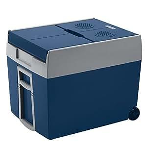 Mobicool W48 AC/DC  Frigorifero Portatile Termoelettrico con Ruote, Blu,  48 litri circa