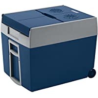 Mobicool W48 AC/DC -  Nevera termoeléctrica portátil, conexiones 12 / 230 V,  48 litros de capacidad, color azul metálico