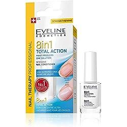 EVELINE Cosmetics Thérapie pour les ongles - Conditionneur Intensif 8 en 1 TOTAL ACTION 12ml