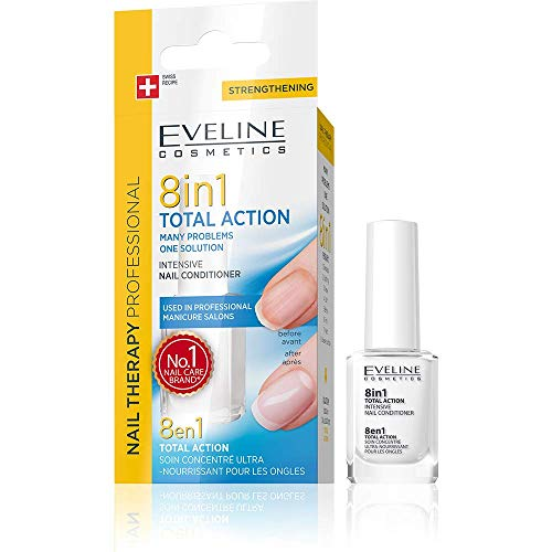 Eveline Total Action 8in1 Intensive Nagelpflege, 12 ml -