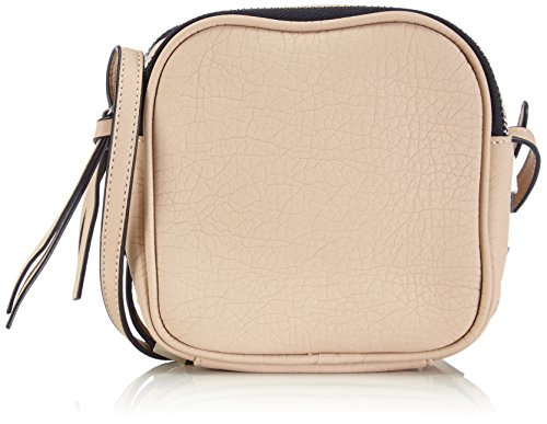 Friis & Company Softy Majse Cross Over, Borsa a tracolla donna, Avorio (Elfenbein (Nude)), 15x15x8 cm (B x H x T)