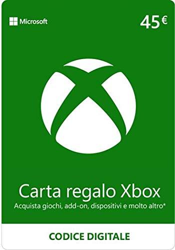 Xbox Live - 45 EUR Carta Regalo [Xbox Live Codice Digital]