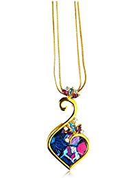 Miranika Gold Plated Pendant for Women (Multi-Colour)(C1D15APS)