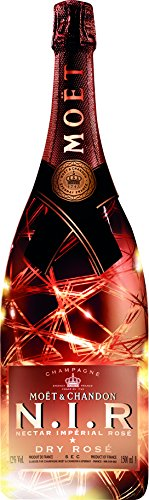 Moet & Chandon N.I.R. Nectar Imperial Dry Rosé Luminous Edition Roséchampagner (1 x 1.5 l)