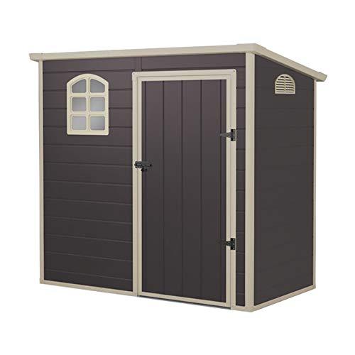 Gardiun KSP38105 - Caseta de Resina Flat Roof, 2.12 m2