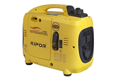 Kipor IG770 Generador Inverter, Serie Sinemaster, 700 W, 0.77 V, amarillo