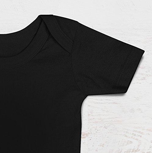 Maglietta 100/% Cotone Neonato LaMAGLIERIA Baby T-Shirt a Maniche Corte Rude Boy Rd01